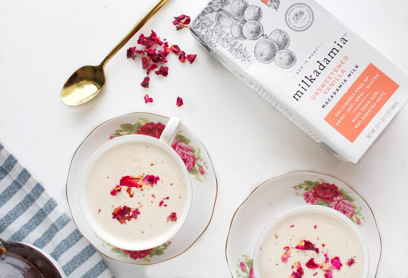 Creamy Vanilla Earl Grey Latte