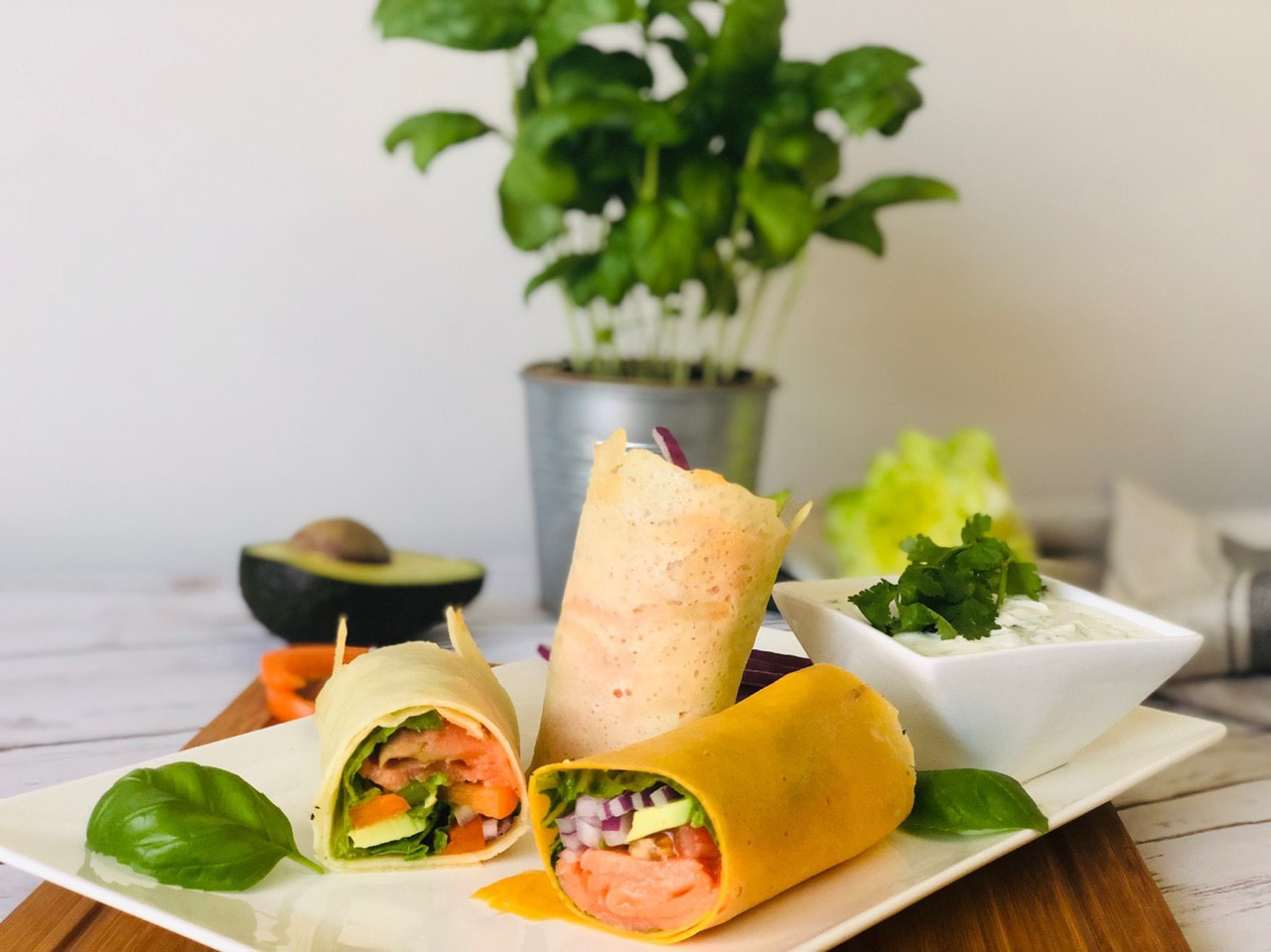 Low Carb Cheese Wraps