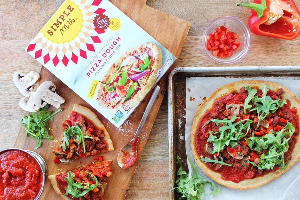 Spicy Paleo Italian Sausage Pizza